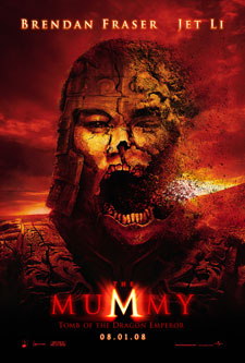 The Mummy-Tomb of the Dragon Emperor Movie Poster