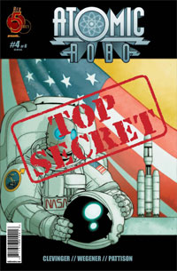 Red 5 Comics - Atomic Robo #4