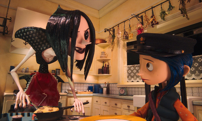 Other Mother's creepy true nature is revealed to Coraline