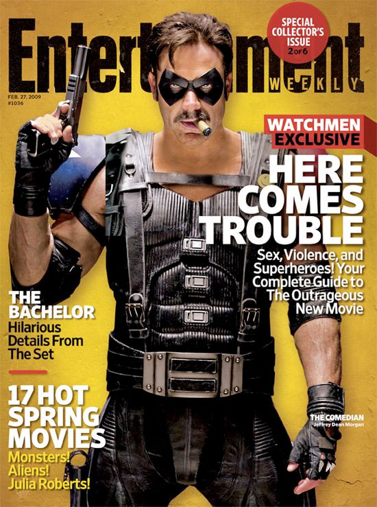 EW's Special Collector's Edition Watchmen Cover: The Comedian