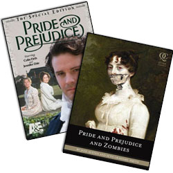 Pride and Prejudice VS. Pride and Prejudice AND Zombies