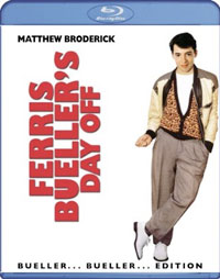 Ferris Bueller's Day Off Blu-Ray dvd