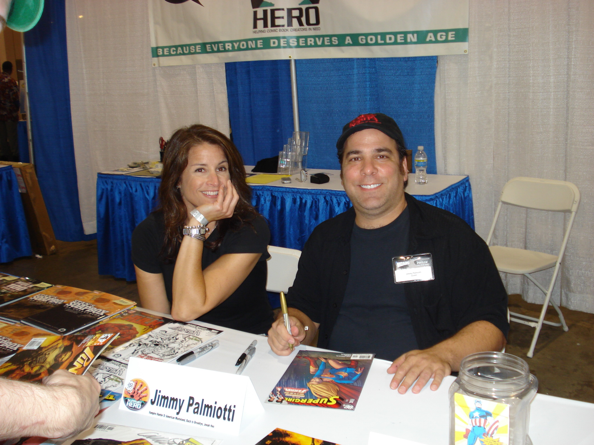 Wizard World Philly 2009 - Jimmy Palmiotti &amp; Pal