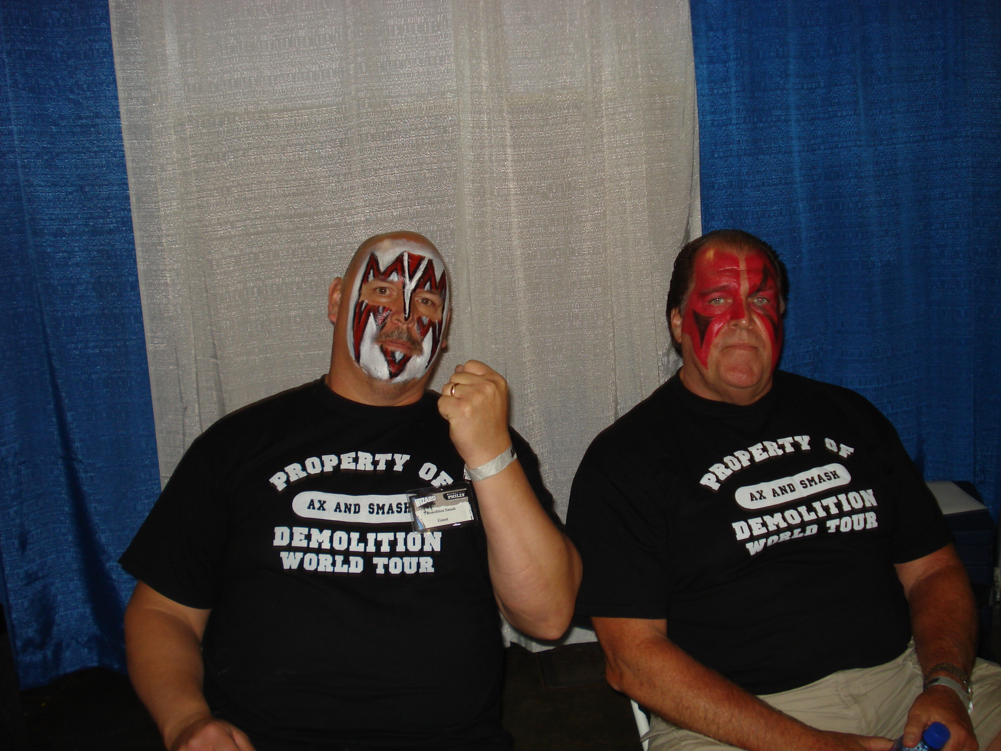Wizard World Philly 2009 – Demolition, Ax & Smash