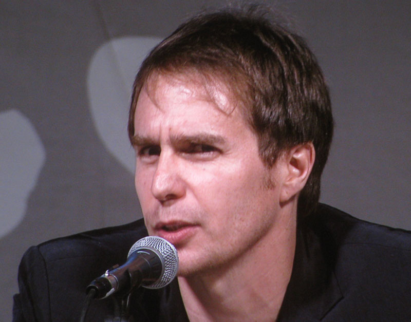 SDCC 09: Sam Rockwell during the Iron Man 2 panel