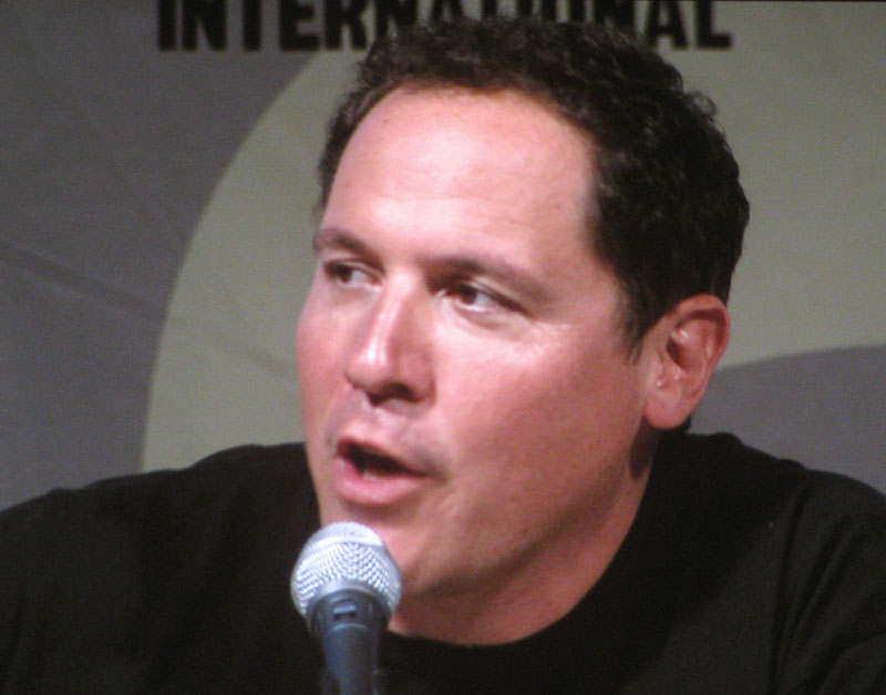 SDCC 09: Director Jon Favreau during the Iron Man 2 panel