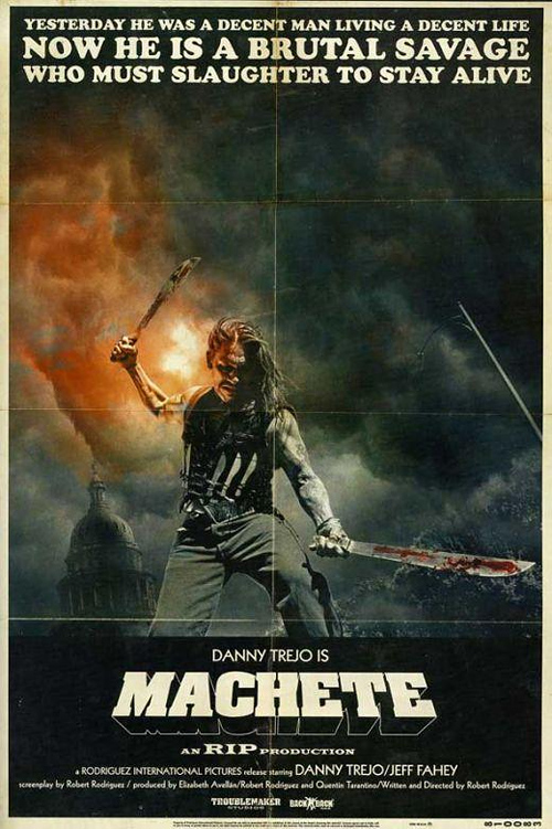 Machete Poster