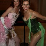 Cosplay Women of Dragon Con: Satine and The Green Fairy from Moulin Rouge