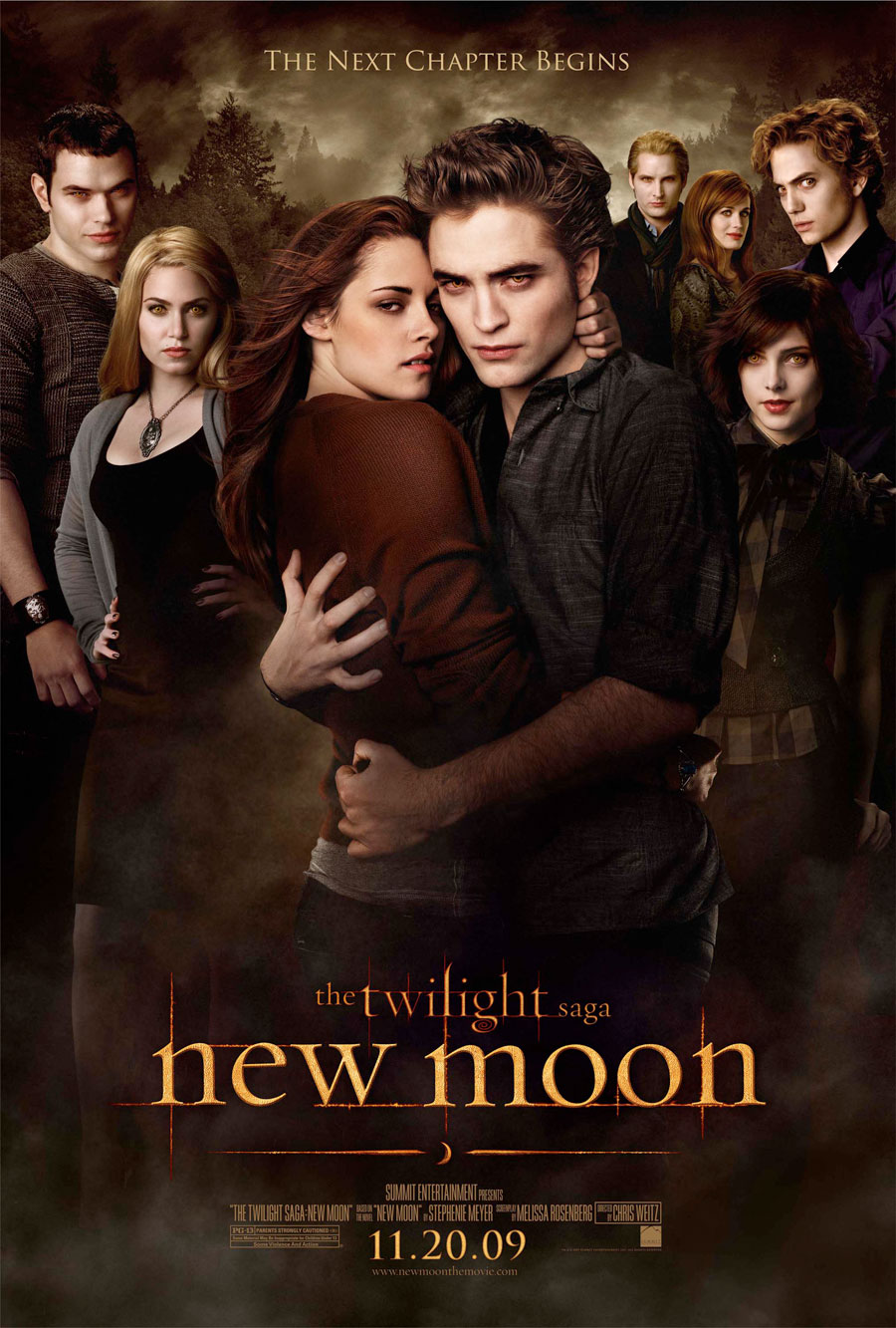 twilight new moon cullen banner