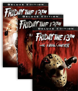 Friday The 13th, Parts 4-6 Deluxe Edition DVDs
