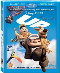 Disney/Pixar's Up blu-ray