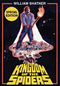 kingdom of the spiders special edition DVD