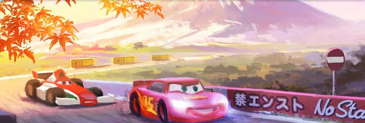 Cars 2 Concept Art