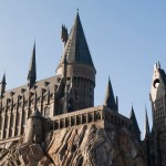 Harry Potter Hogwarts Castle Universal Studios