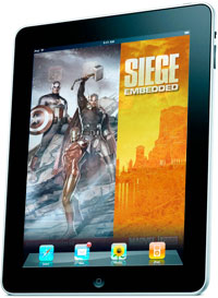 Marvel Comics come to the Apple iPad