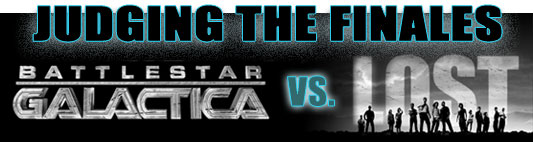 Judging the Finales: Battlestar Galactica vs. LOST