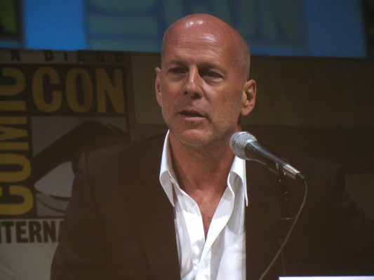 SDCC 2010: Summit Entertainments RED panel: Bruce Willis 02