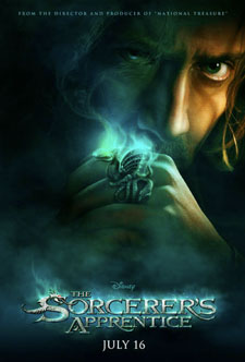 Disneys The Sorcerers Apprentice movie poster