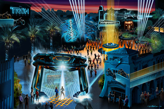 Disney California Adventure ElecTRONica