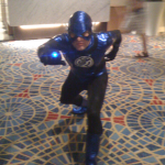 Dragon*Con 2010 Photo Set - Blue Lantern Flash