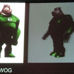 Green Lantern: The Animated Series: concept art