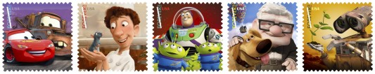 Pixar Stamps 2011
