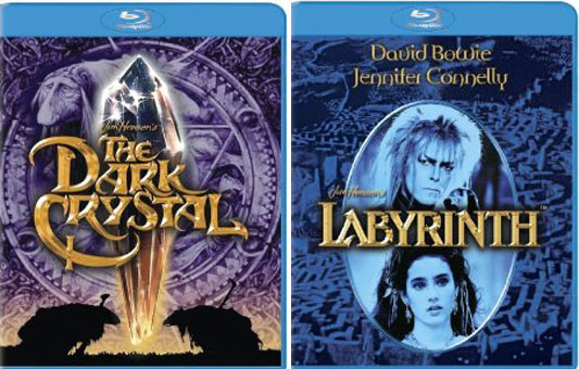 Dark Crystal & Labyrinth Blu-ray