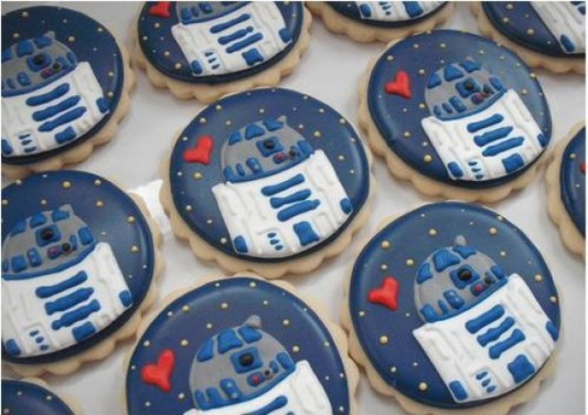 R2-D2 cookies