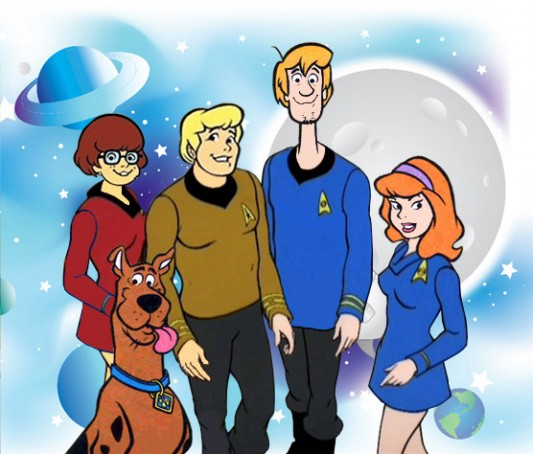 Star Trek meets Scooby Doo