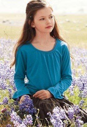 Mackenzie Foy fashion shoot