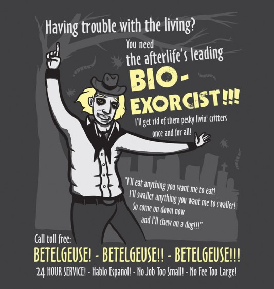 Bio-Exorcist Beetlejuice shirt