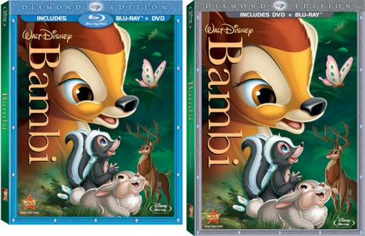 Disney&#039;s Bambi Blu-ray