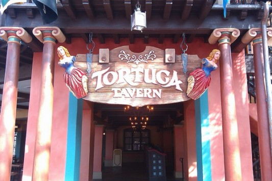 Tortuga Tavern, Disney World