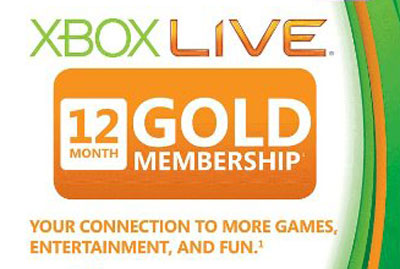 Xbox 360 Live 12-Month Subscription