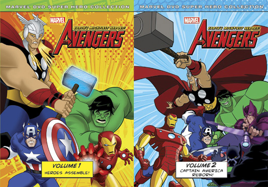 The Avengers: Earth's Mightiest Heroes Vol 1 & 2
