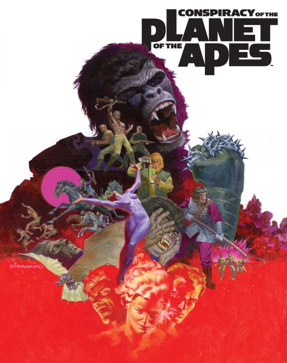 Conspiracy of the Planet of the Apes