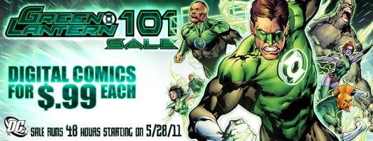 Green Lantern comics sale