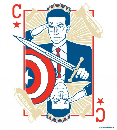 Stephen Colbert Tribute Shirt 'King Colbert'