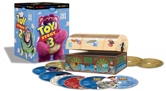 Toy Story Trilogy Blu-ray
