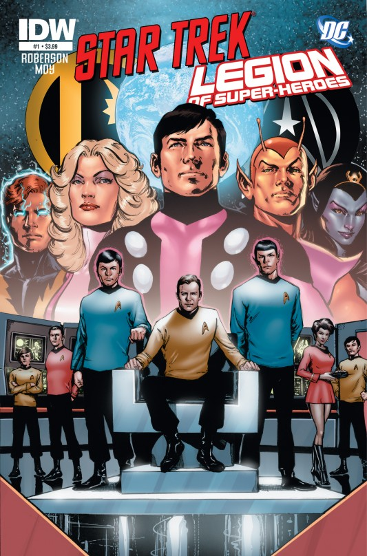 Star Trek/Legion Cover