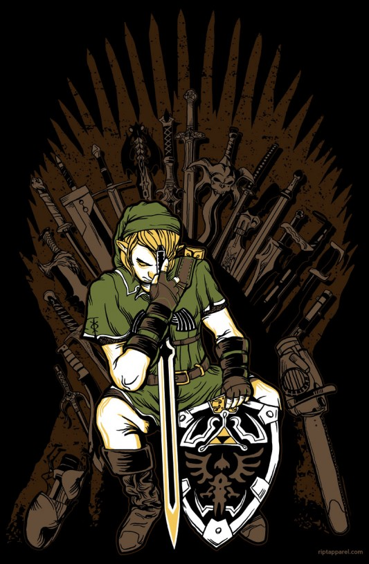 Zelda - Game of Thrones