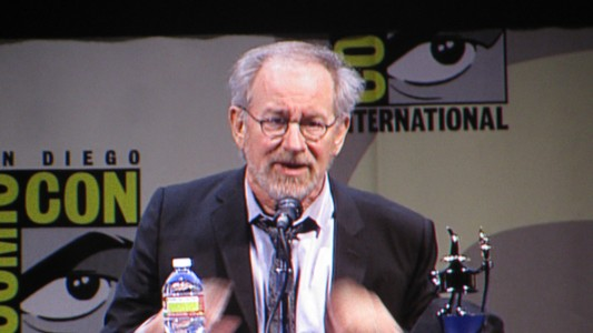 SDCC 2011: Tin Tin panel: Steven Spielberg
