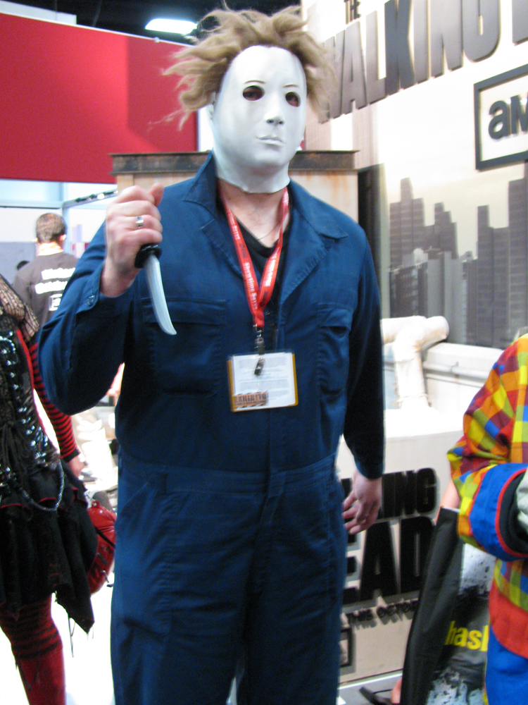 sdcc  cosplay  michael myers