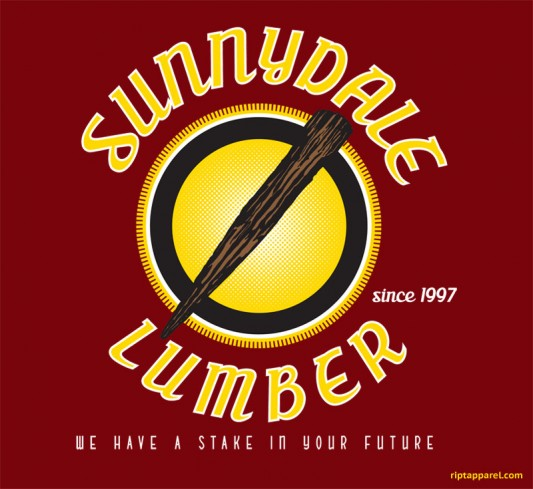 Buffy The Vampire Slayer - Sunnydale Lumber