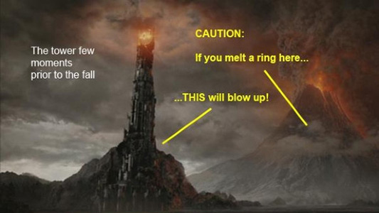 LotR- Sauron's Tower