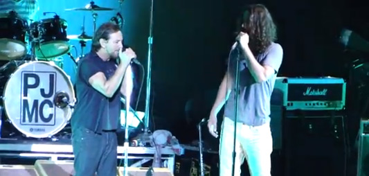 Chris Cornell with Pearl Jam