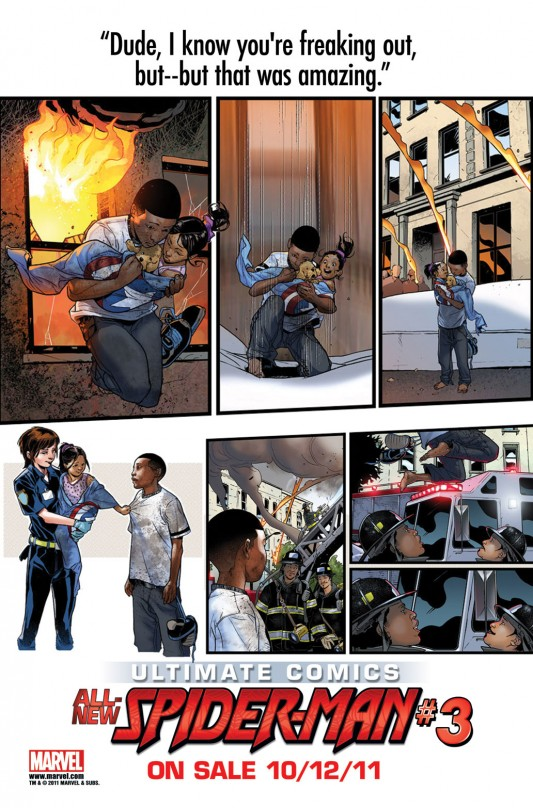 Marvel: Ultimate Comics Spider-Man #03 preview page