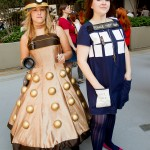 Dalek and Tardis Dresses
