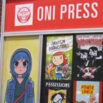 NYCC 2011: Preview Night: Oni Press booth