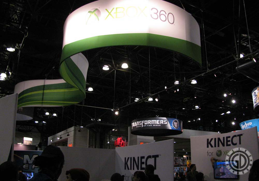 NYCC 2011: Preview Night: Xbox 360 booth